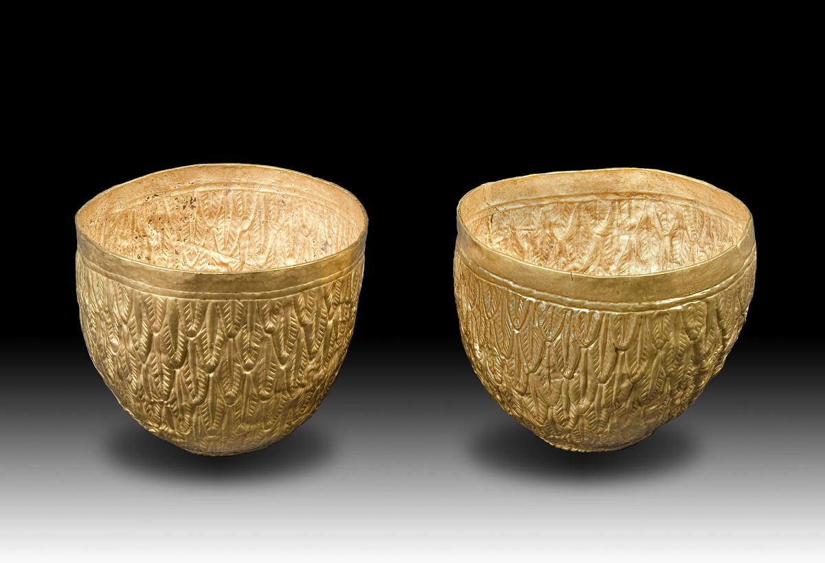 Two cone-shaped objects | Masterpieces of Ancient Eurasian ...